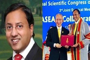 Raghu Ram receives FRCS of Thailand