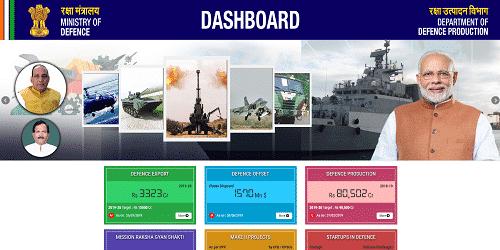 Rajnath Singh launches DDP Dashboard