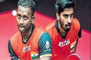 Sathiyan and Amalraj.