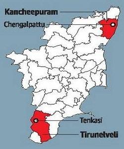 Tamil Nadu - two new Districts