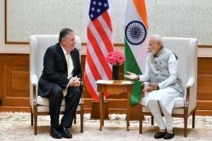 Visit of Michael R. Pompeo to India