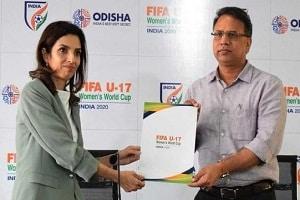 1st venue for 2020 FIFA U-17 Women's World Cup