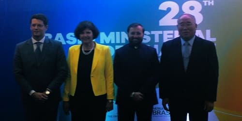 28th BASIC Ministerial Meeting 2019 on Climate Change