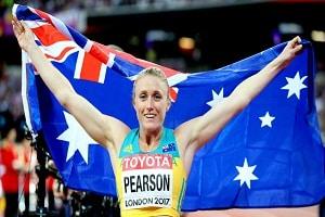 Aussie athlete Sally Pearson