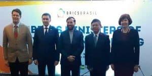 BRICS Minister of Environment held in Sao Paulo, Brazil