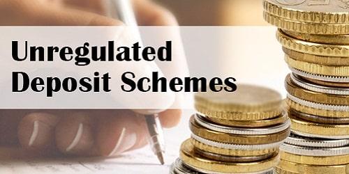 Banning of Unregulated Deposit Schemes Bill, 2019
