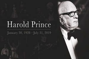Broadway legend Harold 'Hal' Prince