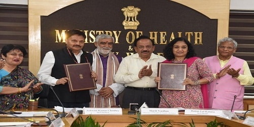 Department of Social Justice & Empowerment and National AIDS Control Organization signed an MoU