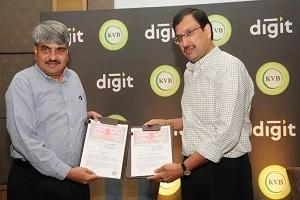 Digit Insurance- Karur Vysya Bank