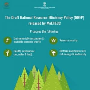 Draft on National Resource Efficiency Policy 2019