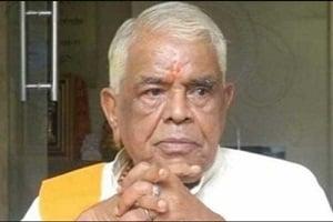 Former Chief Minister of Madhya Pradesh Babulal Gaur