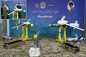 Iran launched 3 new precision-guided missiles