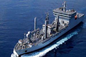 """Japanese defense ship """"JS Sazanami"""", visits Kochi"""