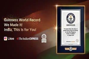 Likee platform creates Guinness World Record