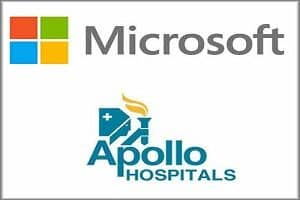 Microsoft joins hands with Apollo Hospitals