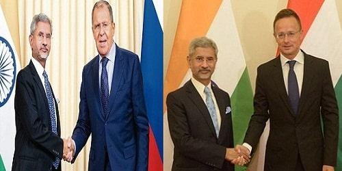 S.Jaishankar Visit to Russia and Hungary