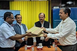 Mou signed between GeM and SIDBI