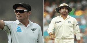 NZ's Tim Southee equals India's Sachin Tendulkar's record.