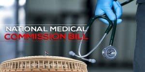 National Medical Commission bill 2019