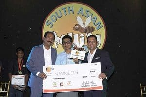 Navneeth Murali wins 2019 South Asian Spelling Bee competition