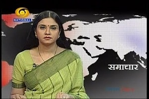 Neelam Sharma- Former DD news anchor