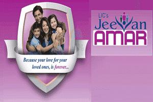 "New insurance plan ""Jeevan Amar"""