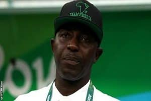 Nigeria coach Samson Siasia