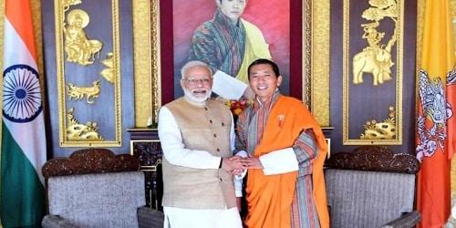 Prime Minister Narendra Modi's Visit to Bhutan