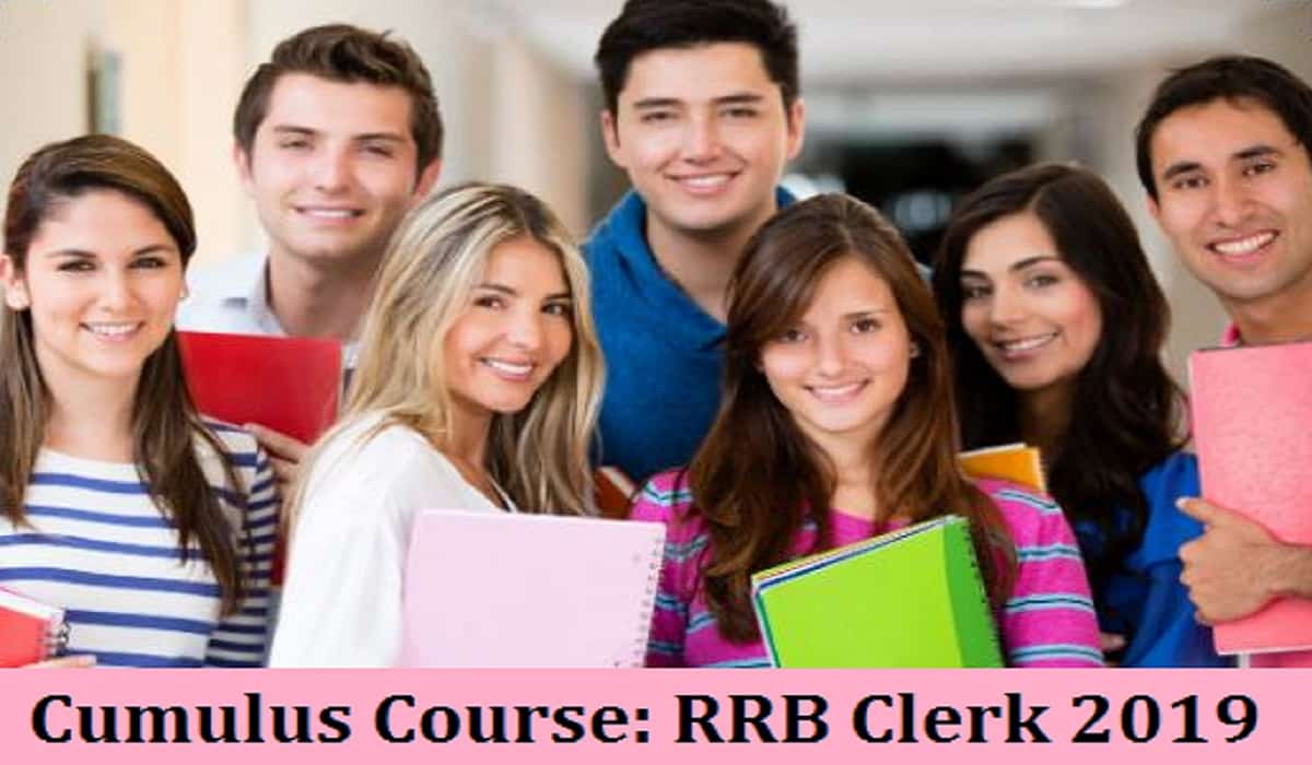RRB Clerk 2019 Course