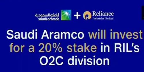 Saudi's ARAMCO will buy 20% of RIL's oil