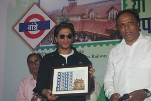 Shah Rukh Khan launches heritage postal stamp of Bandra station