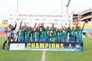 U-14 Subroto Cup International Football tournament title 2019