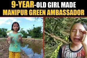 Valentina Devi made Manipur's green ambassador