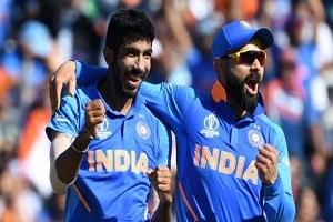 Virat Kohli tops & Jasprit Bumrah enters top 10 in latest ICC test rankings