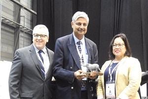 Vivek Menon wins Clark Bavin Award 2019