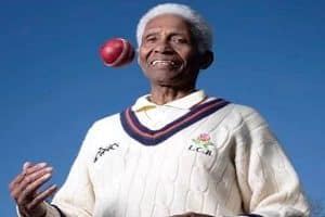 West Indies bowler Cecil Wright