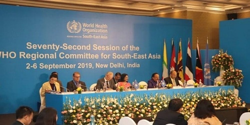 '72nd Session of the WHO Regional Committee for South-East Asia'