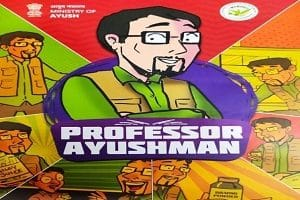 'Professor Ayushman' comic book released by Ayush Ministry