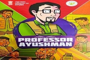 'Professor Ayushman' comic book released by Ayush Ministry