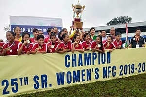 25th Senior Women's National Football Championship 2019 in Arunachal Pradesh