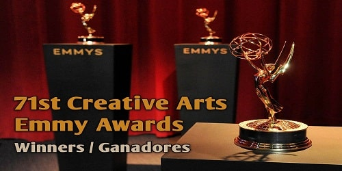 71st Primetime Creative Arts Emmy Awards for 2019