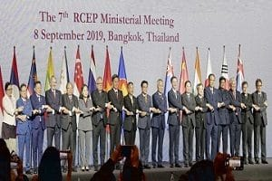 7th RCEP ministerial meeting held in Bangkok, Thailand
