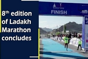 8th edition of Ladakh Marathon, world's highest marathon