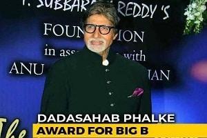 Amitabh Bachchan unanimously selected for DadasahebPhalke award 2019