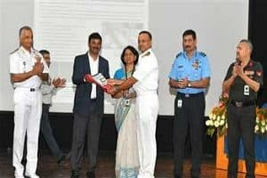 DRDO presents war gaming software to the Indian Navy at ISSA Delhi