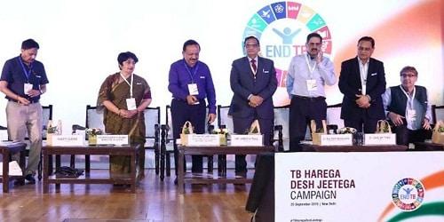 Dr Harsh Vardhan launched 'TB Harega Desh Jeetega'