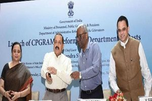 Dr Jitendra Singh launched CPGRAMS reforms in Department of Posts
