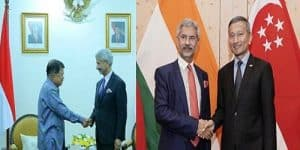 Dr S Jaishankar's visit to Indonesia and Singapore