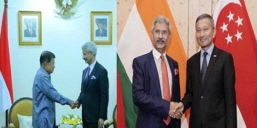 Dr S Jaishankar's visit to Indonesia and Singapore