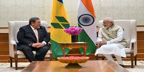 Dr. Hon'ble Ralph Everard Gonsalves's visit to India
